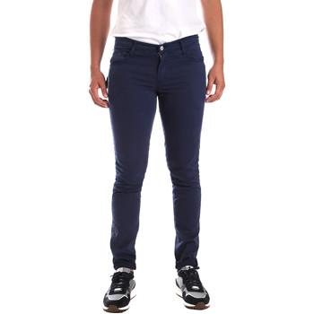 vaatteet Miehet Chino-housut / Porkkanahousut Antony Morato MMTR00498 FA800109 Sininen