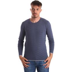 vaatteet Miehet Neulepusero Gaudi 911FU53018 Sininen