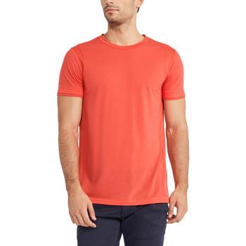vaatteet Miehet Lyhythihainen t-paita Gaudi 911FU64005 Punainen