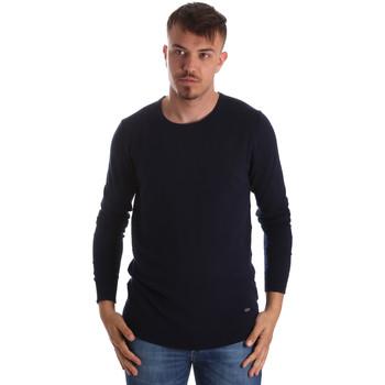 vaatteet Miehet Neulepusero Gaudi 911BU53010 Sininen