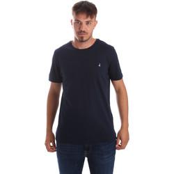 vaatteet Miehet Lyhythihainen t-paita Navigare NV31069 Sininen