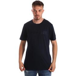 vaatteet Miehet Lyhythihainen t-paita Navigare NV31070 Sininen