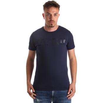 vaatteet Miehet Lyhythihainen t-paita Navigare NV31081 Sininen