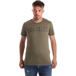 vaatteet Miehet Lyhythihainen t-paita Navigare NV31081 Vihreä