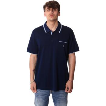 vaatteet Miehet Lyhythihainen poolopaita Navigare NV72045AD Sininen