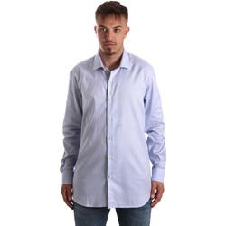 vaatteet Miehet Pitkähihainen paitapusero Navigare NV90005 FR Sininen