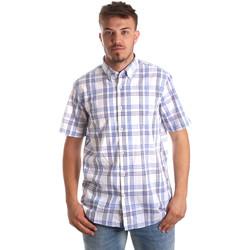 vaatteet Miehet Lyhythihainen paitapusero Navigare NV91057 BD Sininen