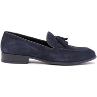 kengät Miehet Mokkasiinit Soldini 20802-A-V89 Sininen