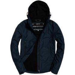 vaatteet Miehet Tuulitakit Superdry M50010ST Sininen