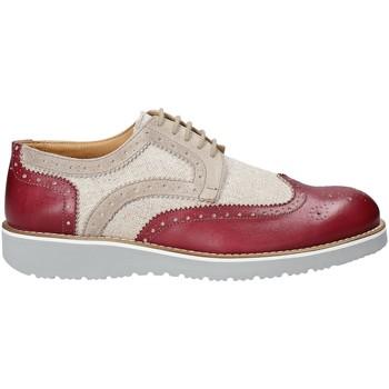 kengät Miehet Derby-kengät Exton 5105 Punainen