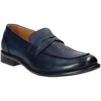 kengät Miehet Mokkasiinit Exton 3106 Sininen