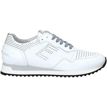 kengät Miehet Matalavartiset tennarit Exton 903 Valkoinen