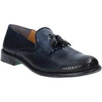 kengät Miehet Mokkasiinit Exton 3105 Sininen