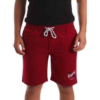 vaatteet Miehet Shortsit / Bermuda-shortsit Key Up 2F26I 0001 Punainen