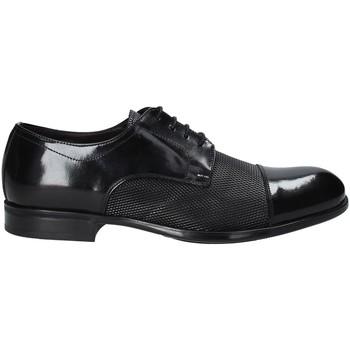 kengät Miehet Derby-kengät Exton 1385 Musta