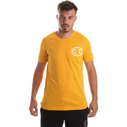 vaatteet Miehet Lyhythihainen t-paita Champion 213251 Keltainen