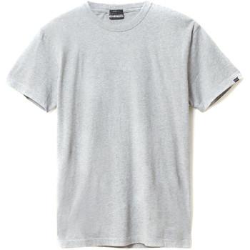 vaatteet Miehet Lyhythihainen t-paita Napapijri N0YIEL Harmaa