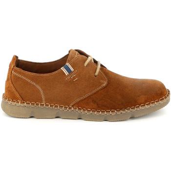 kengät Miehet Derby-kengät Grunland SC4527 Ruskea