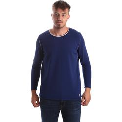 vaatteet Miehet Neulepusero Byblos Blu 2MM0004 MA0002 Sininen