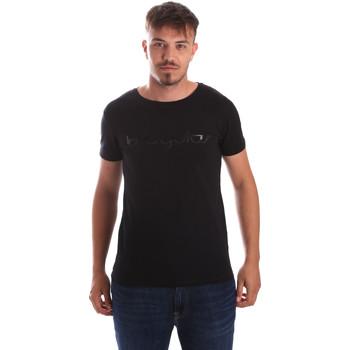 vaatteet Miehet Lyhythihainen t-paita Byblos Blu 2MT0023 TE0048 Musta