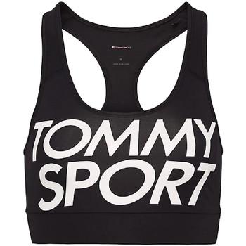 vaatteet Naiset Urheiluliivit Tommy Hilfiger S10S100070 Musta