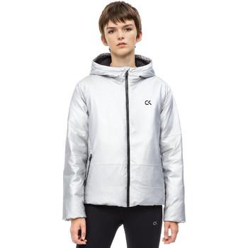 vaatteet Naiset Pusakka Calvin Klein Jeans 00GWH8O598 Harmaa