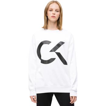 vaatteet Naiset Svetari Calvin Klein Jeans 00GWH8W353 Valkoinen