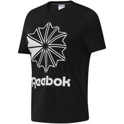 vaatteet Naiset Lyhythihainen t-paita Reebok Sport DT7219 Musta