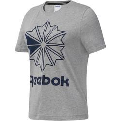 vaatteet Naiset Lyhythihainen t-paita Reebok Sport DT7221 Harmaa