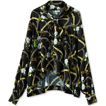 vaatteet Naiset Paitapusero / Kauluspaita Liu Jo W19499T5335 Musta