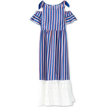 vaatteet Naiset Pitkä mekko Liu Jo F19228T2311 Sininen