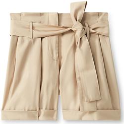 vaatteet Naiset Shortsit / Bermuda-shortsit Liu Jo F19231T2311 Beige