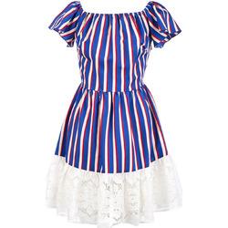 vaatteet Naiset Lyhyt mekko Liu Jo F19384T2311 Sininen