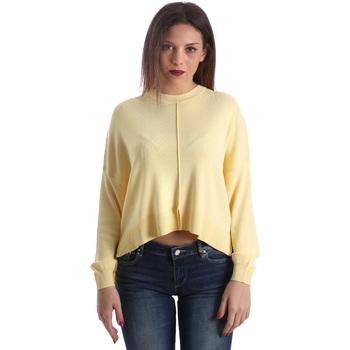 vaatteet Naiset Neulepusero Liu Jo M19137MA610 Keltainen