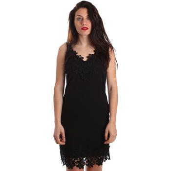 vaatteet Naiset Lyhyt mekko Fracomina FR19SP024 Musta