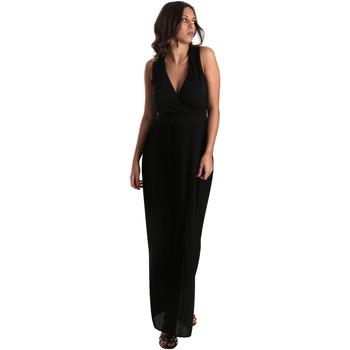 vaatteet Naiset Pitkä mekko Fracomina FR19SM673 Musta