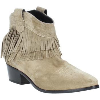 kengät Naiset Nilkkurit Janet&Janet 43052 Beige