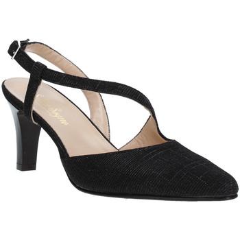 kengät Naiset Korkokengät Soffice Sogno E9360 Musta