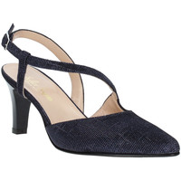 kengät Naiset Korkokengät Soffice Sogno E9360 Sininen