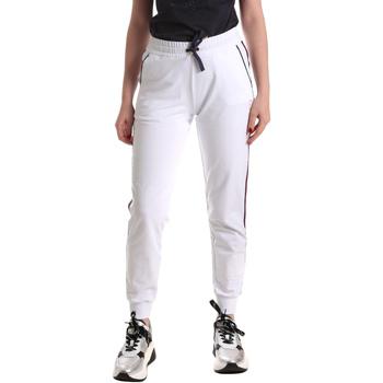 vaatteet Naiset Verryttelyhousut Ea7 Emporio Armani 3GTP54 TJ31Z Valkoinen