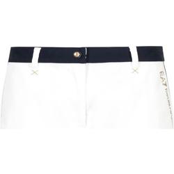 vaatteet Naiset Shortsit / Bermuda-shortsit Ea7 Emporio Armani 3GTS02 TN29Z Valkoinen
