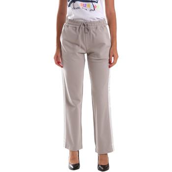 vaatteet Naiset Verryttelyhousut U.S Polo Assn. 52409 51314 Harmaa
