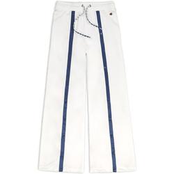 vaatteet Naiset Verryttelyhousut Champion 111377 Valkoinen