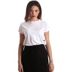 vaatteet Naiset Lyhythihainen t-paita Champion 111487 Valkoinen