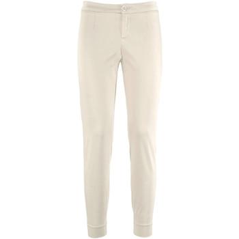vaatteet Naiset Chino-housut / Porkkanahousut Nero Giardini P960510D Beige