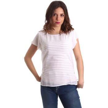 vaatteet Naiset Topit / Puserot Nero Giardini P962470D Valkoinen