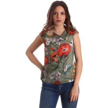 vaatteet Naiset Topit / Puserot Nero Giardini P962570D Vihreä