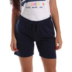 vaatteet Naiset Shortsit / Bermuda-shortsit Key Up 5F59G 0001 Sininen