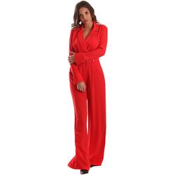 vaatteet Naiset Jumpsuits / Haalarit Byblos Blu 2WD0010 TE0012 Punainen