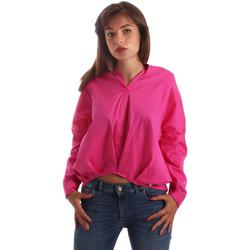 vaatteet Naiset Paitapusero / Kauluspaita Byblos Blu 2WR0004 TE0014 Vaaleanpunainen